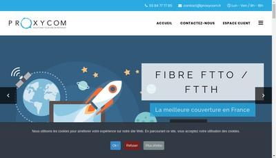 Site internet de Proxycom