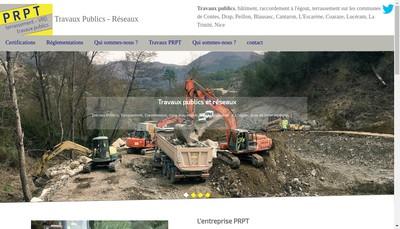 Site internet de Prpt Travaux