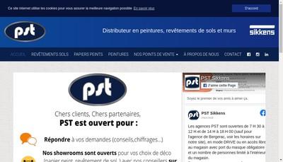 Site internet de Peinture Service du Tarn