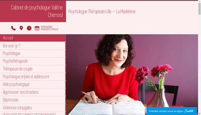 Site internet de Valerie Chemoul