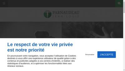 Site internet de Jean-Louis Parnaudeau