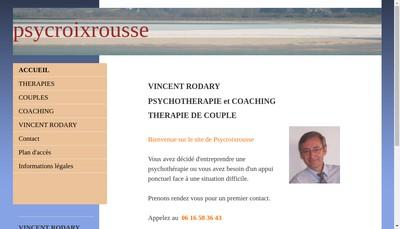 Site internet de Vincent Rodary
