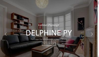 Site internet de Delphine Py