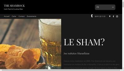Site internet de Shamrock Marseille