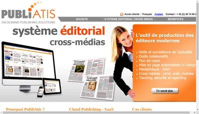 Site internet de Publiatis