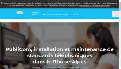 Site internet de Publi-Com