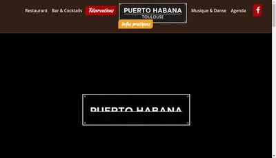 Site internet de Puerto Habana