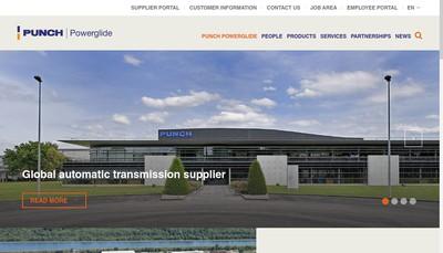 Site internet de Punch Powerglide Strasbourg