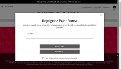Site internet de Punt Roma France