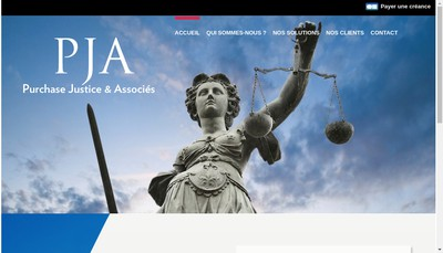 Site internet de Purchase Justice et Associes