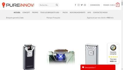 Site internet de Pureinnov