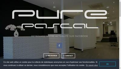 Site internet de Pure Pascal