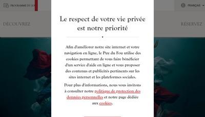 Site internet de Puy du Fou