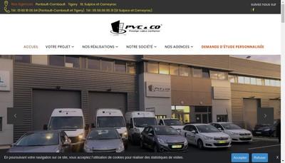 Site internet de Pvc & Co