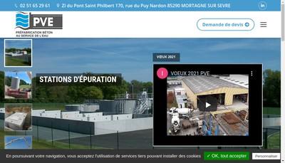 Site internet de Pve