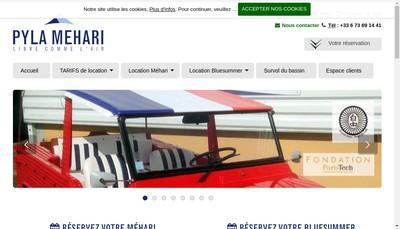 Site internet de Pyla Mehari
