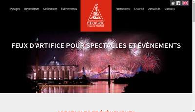 Site internet de Societe Pyragric