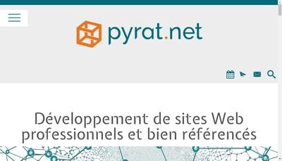 Site internet de Pyrat Net