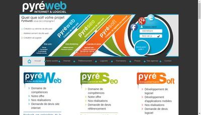Site internet de Pyreweb