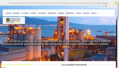 Site internet de Pyrocontrole