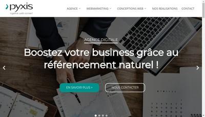 Site internet de Pyxis