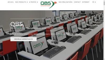 Site internet de Quetzal Burosystem