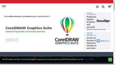 Site internet de Qbs Software
