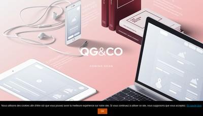Site internet de Qg & Co