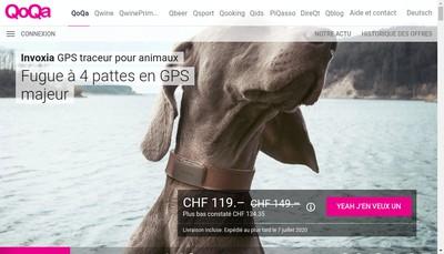 Site internet de Qoqa SA