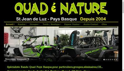 Site internet de Quad E Nature