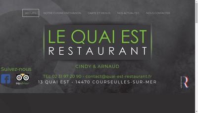 Site internet de Le Quai Est