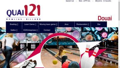 Site internet de Espace Vauban et Bowling Vauban