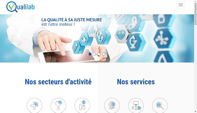 Site internet de Qualilab