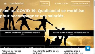 Site internet de Qualisocial