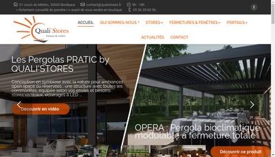 Site internet de Quali'Stores