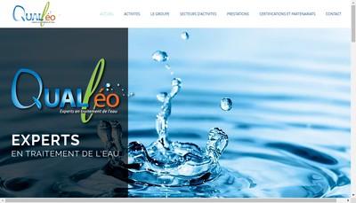Site internet de Qualleo