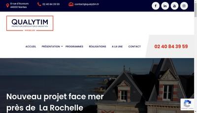 Site internet de Qualytim