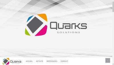 Site internet de Quarks Services