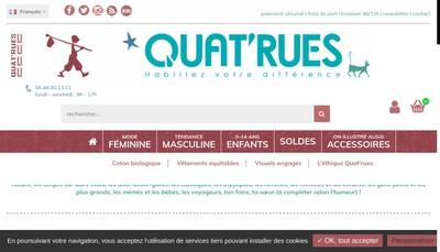 Site internet de Quat'Rues