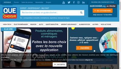 Site internet de Ufc Que Choisir
