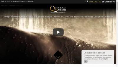 Site internet de Question d'Ambiance