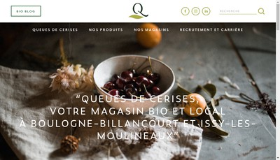 Site internet de Queues de Cerises