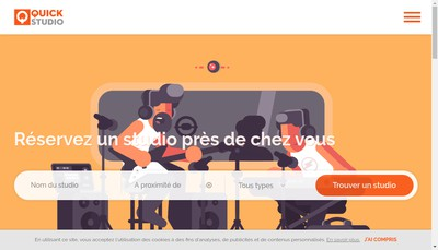Site internet de Quick-Studio