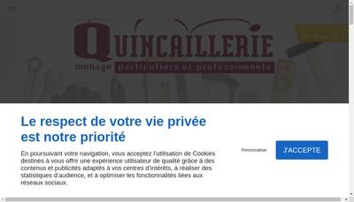 Site internet de Boutique Habitat