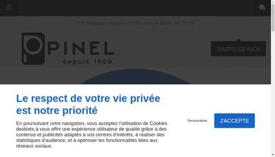 Site internet de Quincaillerie Moderne