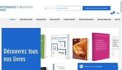 Site internet de Quintessence International
