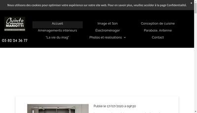 Site internet de Etablissements Quinto Mariotti