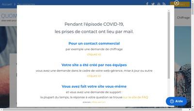 Site internet de Le Casier