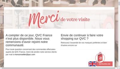 Site internet de Qvc France