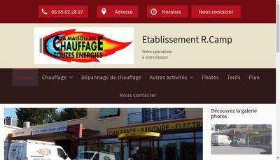 Site internet de Services Plus Rcl Location